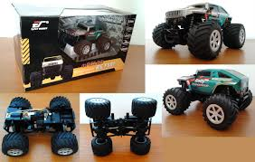 bigfoot remote control monster truck project 1 24 mini rc monster e fly mrc160 bigfoot