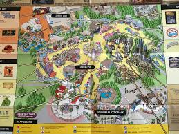 Map Of Hollywood Studios Studio Map 2016 Universal Studios Hollywood Harry Potter