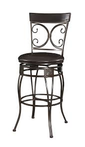 Extra Tall Outdoor Bar Stools Amazon Com Powell Company Big And Tall Back To Back Scroll