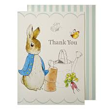 peter rabbit 8 party cards beatrix potter shop