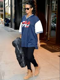 timberland thanksgiving sale rihanna hits the streets of nyc in style with these timberland 6