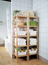 Small Bathroom Shelf Inspiring Concepts Ikeacatalogus Storage Towels And Storage