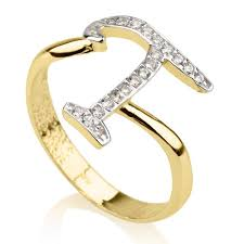 Ring With Initials T