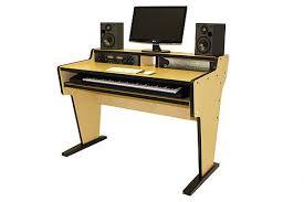 bazel studio desk music studios desk for home u0026 midi controllers