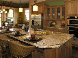 granite kitchen island with seating kitchen design superb luxury 9 kitchen 1 magnificent granite