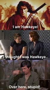 Hawkeye Meme - the one and only meme by sayainsnowman memedroid
