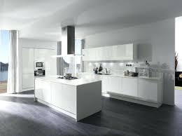 ilot cuisine blanc cuisine blanche avec ilot central cuisine blanc et bois avec ilot