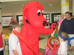 Clifford Big Red Dog Halloween Costume Family Museum Archives Humility Mary Housing