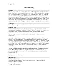 example of a profile essay cover letter profile essay examples