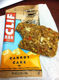 live a little sunshine clif bar carrot cake u003d so good