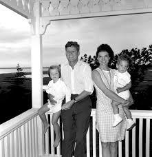 Caroline Kennedy S Children President Kennedy And Family Hyannis Port August 4 1962 L R