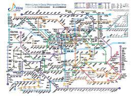 Korea Subway Map by Seoul Metro Map Chinese
