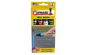 u mark u phase 10718psa blue red white green color wire marker