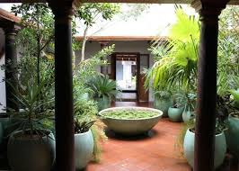 home garden interior design courtyard of a south indian home home garden house