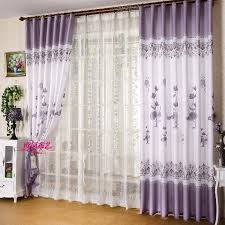 White And Purple Curtains Curtain Sheer Picture More Detailed Picture About New Modern