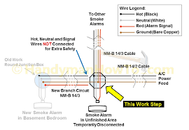 wiring diagram for smoke detectors wiring diagram for smoke for