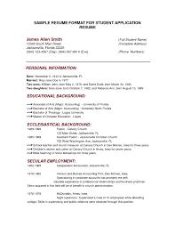 resume samples simple resume format sample simple foto nakal co free resume templates philippines format example simple template inside resume format sample simple