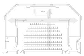 Movie Theater Floor Plan Cinema Of War U2013 Royal Armouries Museum New Dock Hall