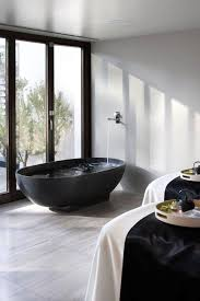 Gray And Black Bathroom Ideas Best 20 Black Bathtub Ideas On Pinterest Baths Modern