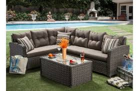 Outdoor Furniture Sectional Sofa Outdoor Furniture Melrose Discount Furniture Store