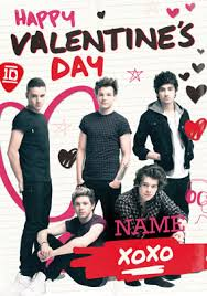 one direction valentines one direction graffiti heart s card funky pigeon
