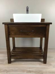 Custom Built Bathroom Vanities Custom Built Solid Wood Double U0027essex U0027 Bathroom Vanity From
