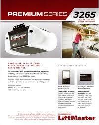 liftmaster garage door opener series 3265 garage door repair