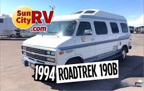 roadtrek 190 b for sale phoenix camper van 1994 sun city rv