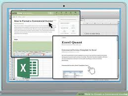 example commercial invoice how to create a commercial invoice 11 steps with pictures