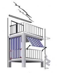 seitenschutz balkon planungshilfen für ihren balkon sichtschutz mit sonnensegel