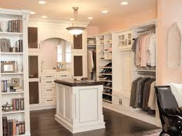 beautiful walk in closet in the master bedroom closet