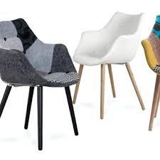 chaise pas cher chaise tissu design chaise fauteuil design scandinave en tissu hans