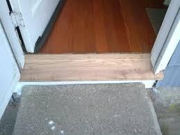 Exterior Door Threshold Installation Replace Door Threshold A Exterior Door How To Replace An Exterior