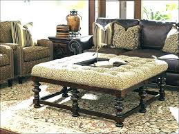 Target Ottomans Upholstering A Coffee Table Ottoman Set Within Upholstered Target