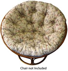 full size of pillows cushions cotton craft papasan chair cushion fits 45 inch