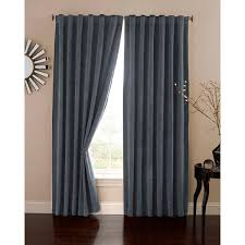 95 Long Curtains Absolute Zero Velvet Home Theater Blackout Curtain Panel By Ellery