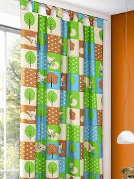schlaufenschal kinderzimmer kinderzimmer dekoschal mit eichhörnchen gardinen outlet
