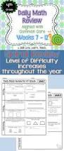 4th grade morning work 4th grade spiral math review set 2 6