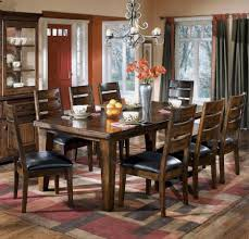 old world dining room tables burnished dark brown dining room table sets with ashley larchmont