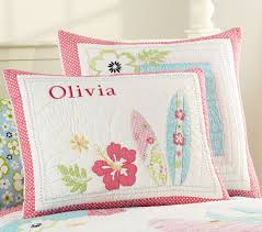 Girls Quilted Bedding by North Shore Quilt Pottery Barn Kids