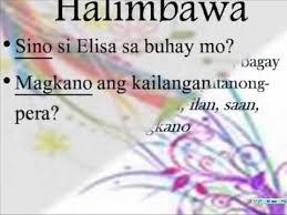 panghalip in filipino iv wmv youtube