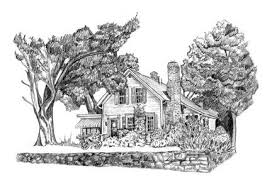 Drawing Of A Bed A Bed And Breakfast Near Smith College In Northampton Ma B U0026 B
