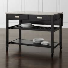 rolling kitchen islands rolling kitchen islands crate and barrel