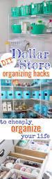 simply brilliant dollar store organization hacks dollar store