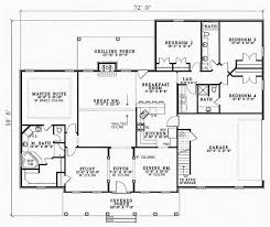 4 bedroom 1 story house plans bedroom 4 bedroom 3 bath on bedroom bath floor plans 2 4