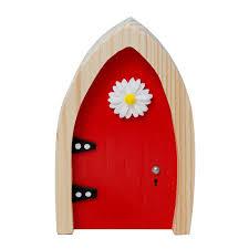 Fairy Door by Irish Fairy Company Arched Wooden Door Magical Key Indoor Outdoor