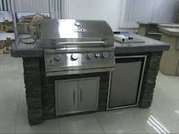 Outdoor Barbecue Blackrock Bbq Outdoor Backyard Barbecue Kitchen With Fridge