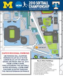 University Of Tennessee Parking Map by University Of Michigan Official Athletic Site