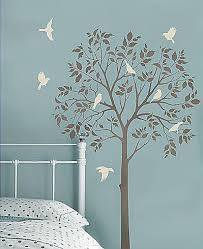 home decor stencils tree stencil for easy home decor stencil a large tree in your room