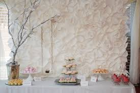 wedding backdrop tutorial elegante mural de flores de papel tutorial cosas papel